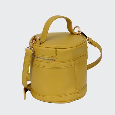 New Cylinder Design PU Lady Cross Body Bag Women PU Hand Bag