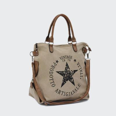 Fashion Jean Printed Women handbag Casual Lady Cloth Bag