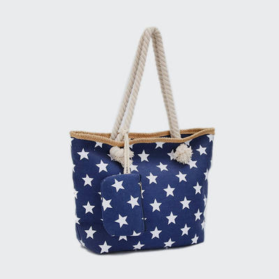 New star cloth handbag fashion lady shopping handbag women beach bag