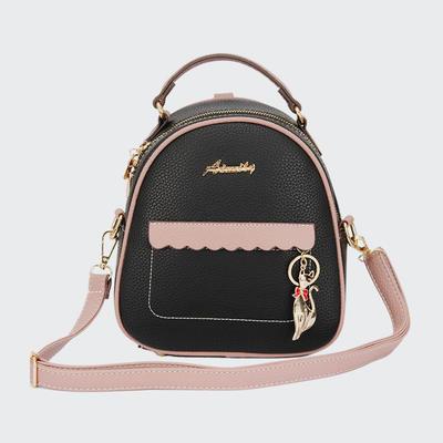 Latest Mini PU Lady Cross Body Bag High Quality Match Women Mini Backpacks